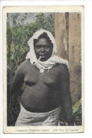 14576 - Australian Aboriginal Woman Smoking Pipe - Aborigènes