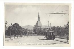 14579 - Torino Passaggio Giardino Reale E Mole Antonelliana Tram - Places & Squares