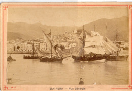 Vecchia Fotografia - San Remo - Vue Generale - Fotos