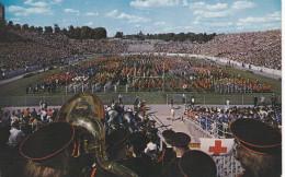 Band Day, ROSS-ADE Stadium, West Lafayette , Indiana , PU-1965 ; University Of Purdue - Lafayette