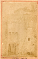 Vecchia Fotografia - San Remo - Vieille Rue - Zonder Classificatie