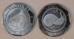 Guinée (Conakry) 25000 Francs 2013 Bimetal Animal - Guinea