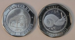 Guinée (Conakry) 25000 Francs 2013 Bimetal Animal - Guinée