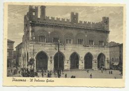 PIACENZA PALAZZO GOTICO 1938 VIAGG. FG - Piacenza