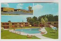 CPSM CESAR RAPIDS (Etats Unis-Iowa) - Holiday Inn 2501 Williams Boulevard 2 Vues - Cedar Rapids