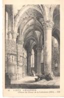 POSTAL   CHARTRES  - FRANCIA  - CIERRE DEL CORO DE LA CATEDRAL  ( CLÔTURE DU CHOEUR DE LA CATHÉDRALE  (1850) - Chartres