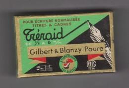 Plumes  Tréraid Blanzy Poure  Boite Et Plumes Num 1805 - Plumes