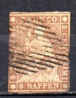 BC / Suisse  : N° 26 Oblitéré   Cote 25,00€ ,  Album 12