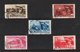 1947 - 1 MAI  Mi No 1057/1061 Et Yv  971/975 - Usado