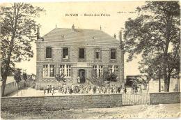 71/CPA A - St Yan - Ecole Des Filles - France