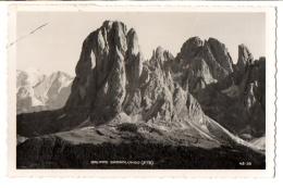 MOENA DI FASSA 1943-44 - TRENTO - GRUPPO SASSOLUNGO - NVG FP - C817 - Trento