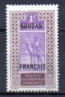 TGC/ Soudan  N° 20  Neuf  XX  MNH , Cote :  0,50 € , Album 12 - Soedan (1894-1902)