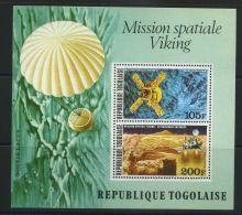 TOGO ( BLOC ) : Y&T N°  96   BLOC  NEUF  SANS  TRACE  DE  CHARNIERE , A  VOIR . - Togo (1960-...)