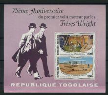 TOGO ( BLOC ) : Y&T N°  114   BLOC  NEUF  SANS  TRACE  DE  CHARNIERE , A  VOIR . - Togo (1960-...)