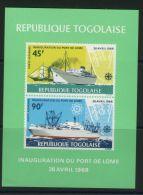 TOGO ( BLOC ) : Y&T N°  30   BLOC  NEUF  SANS  TRACE  DE  CHARNIERE , A  VOIR . - Togo (1960-...)