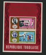 TOGO ( BLOC ) : Y&T N°  40   BLOC  NEUF  SANS  TRACE  DE  CHARNIERE , A  VOIR . - Togo (1960-...)