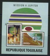 TOGO ( BLOC ) : Y&T N°  79   BLOC  NEUF  SANS  TRACE  DE  CHARNIERE , A  VOIR . - Togo (1960-...)
