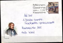 Österreich-    Ganzsache     Lenaustadt  Stockerau - Interi Postali