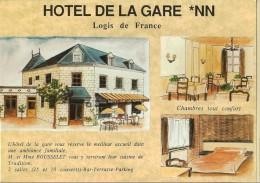 Montrichard-hotel De La Gare-avenue De La Gare-cpm - Montrichard