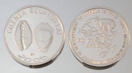 Guinée équatoriale 1500 CFA 2005 Argent Pur .999 Monnaie Primitive - Guinea Equatoriale