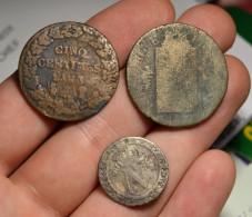Lot De 3 Monnaies Anciennes - France