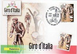 BERGAMO  - 2009 - Giro D'Italia - Bergamo Festeggia 100 Anni Di Gran Ciclismo - - Cyclisme