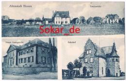 AK Altenstadt Hessen, Wetterau-Kreis, Amtsgericht, Bahnhof - Wetterau - Kreis