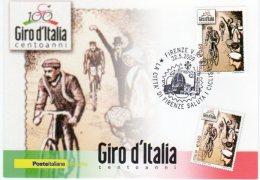 FIRENZE - 2009 - 100° Giro D'Italia - La Città Di Firenze Saluta I Ciclisti - - Cyclisme