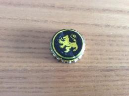 """Ancienne Capsule De Bière """"Brasserie De Clerck"""" Peronne (80) Lion, (intérieur Liège) - Cerveza"""