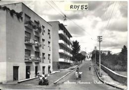 Campania-caserta-sessa Aurunca Viale Trieste Veduta Animata Anni 50/60 - Italia