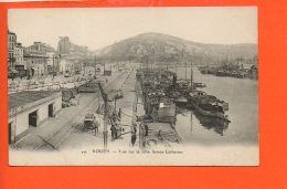 76 ROUEN : Vue Sur La Côte Sainte Catherine (bateaux ) - Rouen