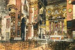 Notre Dame De Laghet Interieur De L'eglise - Autres Communes