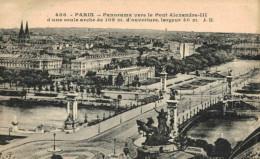 PONTS.Panorama Vers Le Pont Alexandre III - Ponts