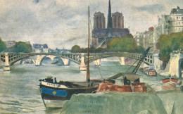 ND DE PARIS.Notre Dame, Par Gaston Gérard (tableau) - Notre Dame De Paris
