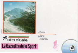 LATINA - TERMINILLO  10° Tappa   75° Giro D'Italia  - - Radsport