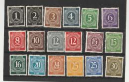 1946 - ALLEMAGNE - ZONE A.A.S. -  Série De 27 Timbres Neufs - Manque Le 80 C - Zone AAS