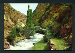 ANDORRA  -  La Massana  Roman Bridge Of St Antony  Unused Postcard - Andorra