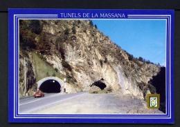 ANDORRA  -  La Massana  Road Tunnels  Unused Postcard - Andorra