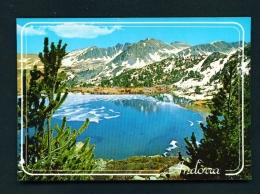 ANDORRA  -  Lake Pessons  Unused Postcard - Andorra