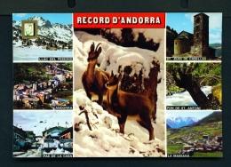 ANDORRA  -  Multi View  Unused Postcard - Andorra