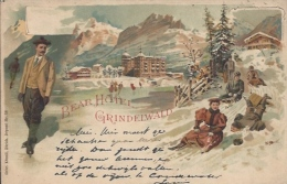 Postcard RA007432 - Switzerland (Helvetia / Suisse / Schweiz / Svizzera) Grindelwald - Zonder Classificatie