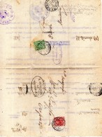 1927 LETTERA CON ANNULLO TREPUZZI  LECCE + MANDURIA - Storia Postale