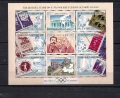 Olympische Spelen  , Kyrgyzstan  -  Blok Postfris - Summer 2000: Sydney