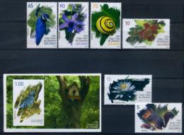 Cuba 2012 / Birds Flowers Snails MNH Aves Flores Caracoles Vögel Blumen / C5614 - Pájaros