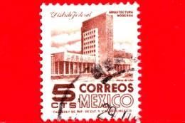 MESSICO - Usato -  1950 - Architettura Moderna - Mexico City - 5 - Messico