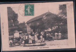 MONTSEUGNY Café PARISOT (1910) - Autres Communes