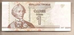 Transnistria - Banconota Circolata Da 1 Rublo - 2012 - Moldavia