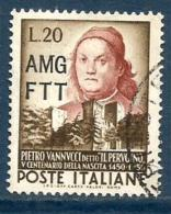 1951 PERUGINO  Trieste A  Serie Completa Usata - Gebraucht