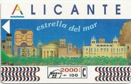 Spain - Telefónica - Alicante - CP-025 - 05.1994, 40.000ex, Used - España