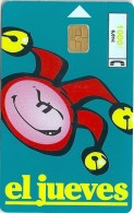 Spain - Telefónica - El Jueves (blue) - CP-142 - 01.1999, 105.000ex, Used - España